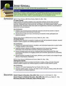 Teaching Resumes Samples Find Your Best Teacher Resume Samples 2018 Resume