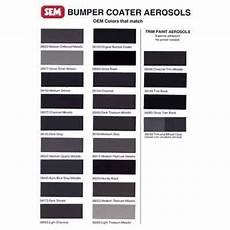 Sem Trim Paint Color Chart Sem Products 39183 Bumper Coater 12 Oz Aerosol Medium Gray