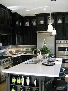 black kitchen design ideas black kitchen designs 3 interior design mag