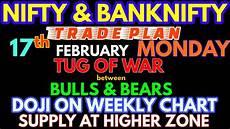 Nifty Option Premium Chart Bank Nifty Amp Nifty Tomorrow 17th February 2020 Daily Chart