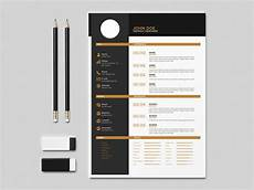 Resume Templates For Indesign Free Flat Indesign Resume Template With Elegant Design