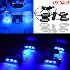 Best Led Footwell Lights Car Suv Led Interior Atmosphere Under Dash Floor Footwell