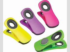 KitchenCraft Set of 4 Magnetic Memo Clips   Clips & Covers