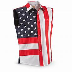 scully s americana and stripes sleeveless shirt
