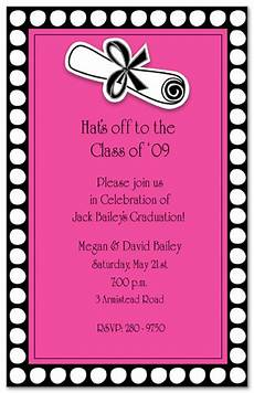 Invite To A Party Wording Graduation Party Invite Wording Party Invitation Collection