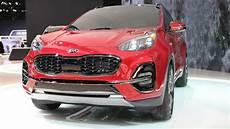 Kia Sportage 2020 Model by 2020 Kia Sportage Debuts In Chicago With Fresh More Tech