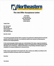 Job Offer Acceptance Email Example 42 Sample Offer Letter Templates Free Amp Premium Templates