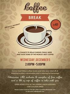 Cafe Flyer Template Coffee Flyer