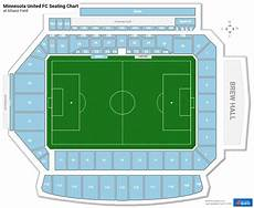 Minnesota United Allianz Field Seating Chart Section 26 At Allianz Field Rateyourseats Com