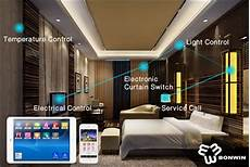 Control Your Room Lights With Your Mobile Bonwin Redefine The Smart Hotel Control System Building