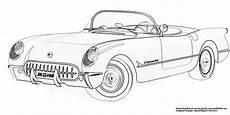 Gratis Ausmalbilder Zum Ausdrucken Autos Auto Cabrio Gratis Ausmalbild