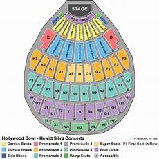 Hollywood Bowl Terrace Seating Chart Los Angeles Concert Tickets