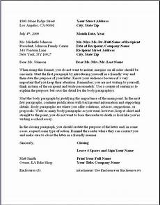 Letter To Business Format Business Letter Format Formal Writing Sample Template