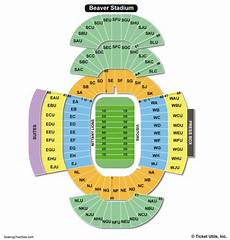 Shorts Stadium Seating Chart Beaver Stadium Seating Chart Seating Charts Amp Tickets