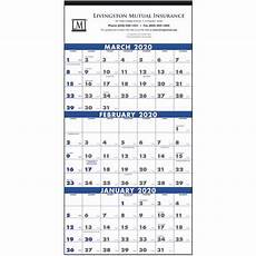 2020 Three Month Calendar Commercial 3 Month Planning Calendar 2020 Promos On Time