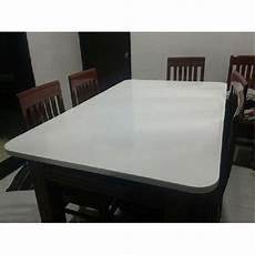 corian acrylic corian acrylic white solid surface table rs 550 square