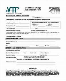 Credit Card Charge Authorization Free 39 Authorization Form Templates Pdf