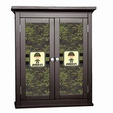 green camo cabinet decal large personalized