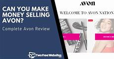 Can You Make A Free Website Can You Make Money Selling Avon Avon Review 2020 Two