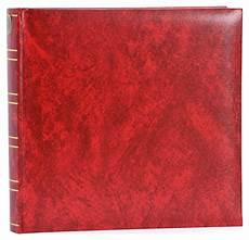 Red Photo Albums Red Photo Album 25 X 24 5cm White Pages 10 012 03