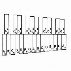 Orchestra Bells Note Chart Miss Jacobson S Music Scales And Charts For