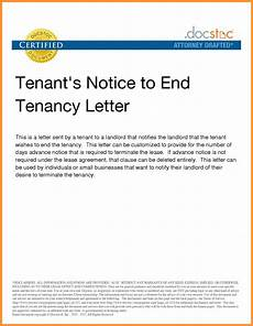 Lease Termination Template Early Lease Termination Letter To Landlord Template