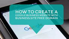 Online Create Free Website How To Create A Google Business Website With Business Site