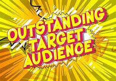 Another Word For Target Audience Outstanding Target Audience Comic Book Style Word Stock