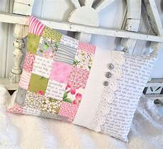 carried away quilting patchwork pillow