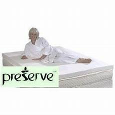 memory foam mattress pad topper preserve 4 lb soy bio