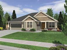 rustic single story homes single story craftsman home