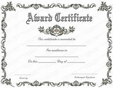 Awards Template Word Royal Award Certificate Template For Word