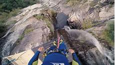 highest cliff dive swiss lunatic leaps 192ft into tiny pool to set terr