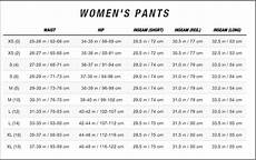 Prana Womens Pants Size Chart Pant Size Guide For Woman