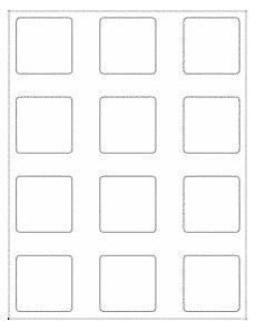 2x2 Size Chart 2 Quot X 2 Quot Square Labels Ol3016 2 Quot X 2 Quot