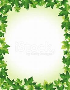 Green Border Design Green Leaf Border Stock Vector Freeimages Com