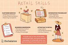 Retail Job Skills Retail Skills List And Examples