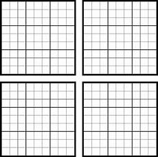 Sudoku Templates Download Sudoku Blank For Free Formtemplate