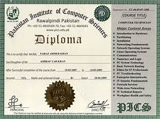Information Technology Certifications Pakistan Institute Of Computer Sciences Free Online
