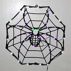 Target Halloween Spider Lights 15 Quot Lighted Led Spider Web Halloween Window Silhouette