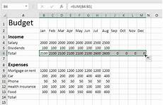 Microsoft Excel Budget Budget Template In Excel Easy Excel Tutorial