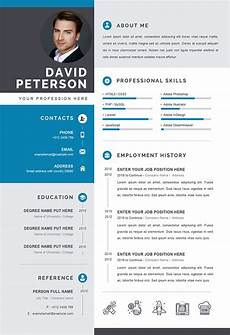Cv Template Format Professional Cv Template In Word Format Editable Cv Word
