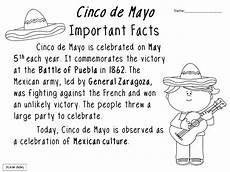 cinco de mayo activities these activities can be used for