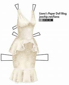 peplum liana s paper dolls