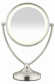 Conair Led Natural Light Vanity Mirror Amazon Com Conair Round Shaped Led Double Sided Lighted
