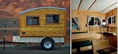 wohnwagen aus holz selber bauen the terrapin handgemachter holzwohnwagen f 252 r minimalisten