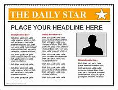 Office Newspaper Template 14 Powerpoint Newspaper Templates Free Sample Example