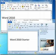 Free Microsoft Office Starter 2010 Download