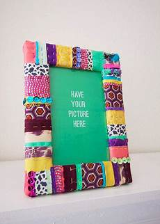 fabric crafts frames the of up cycling diy picture frames fab funky