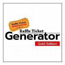 Online Raffle Ticket Generator Raffle Ticket Generator Gold Editions W 6 Months Support